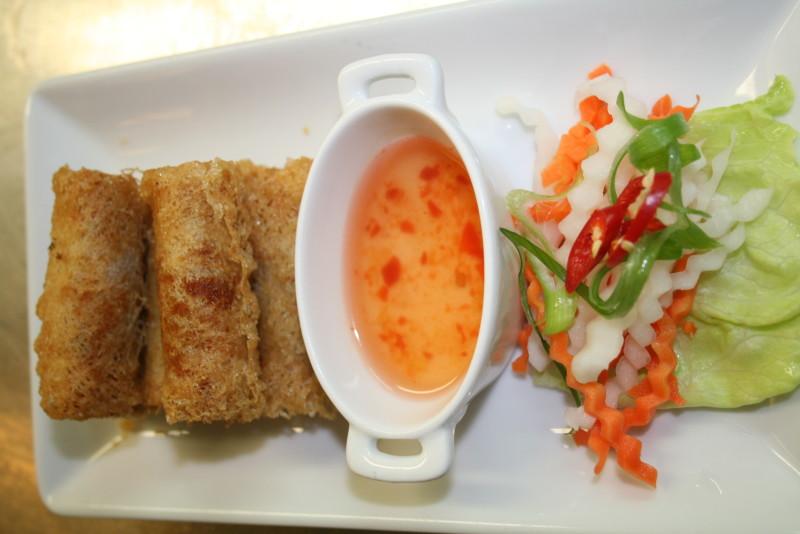 Cha gio de - Rice net spring roll